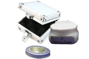 Organicos Cream With open case